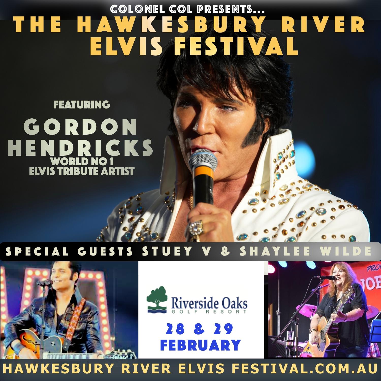 Hawkesbury River Elvis Festival featuring Gordon Hendricks