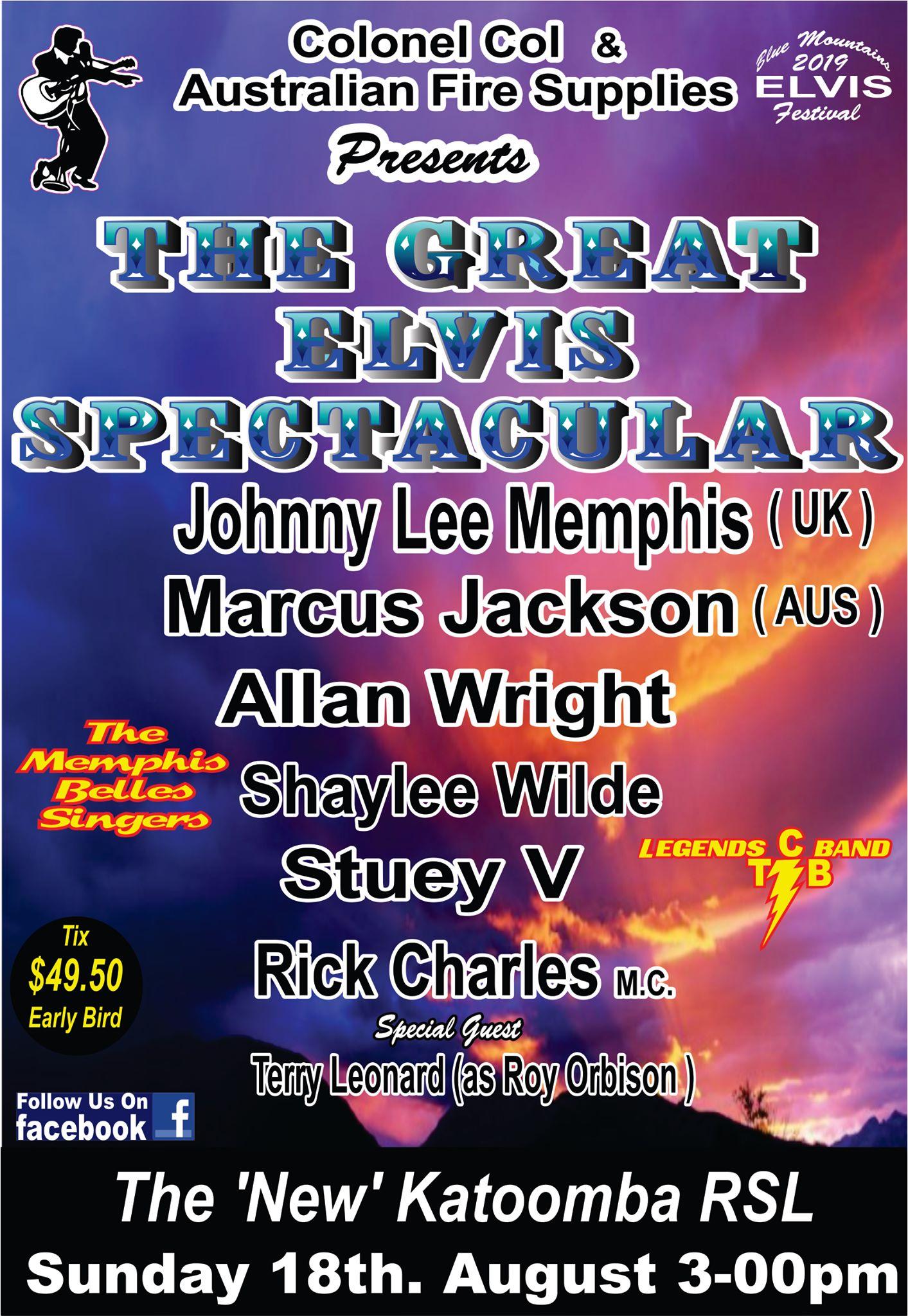 Program Great Elvis Spectacular