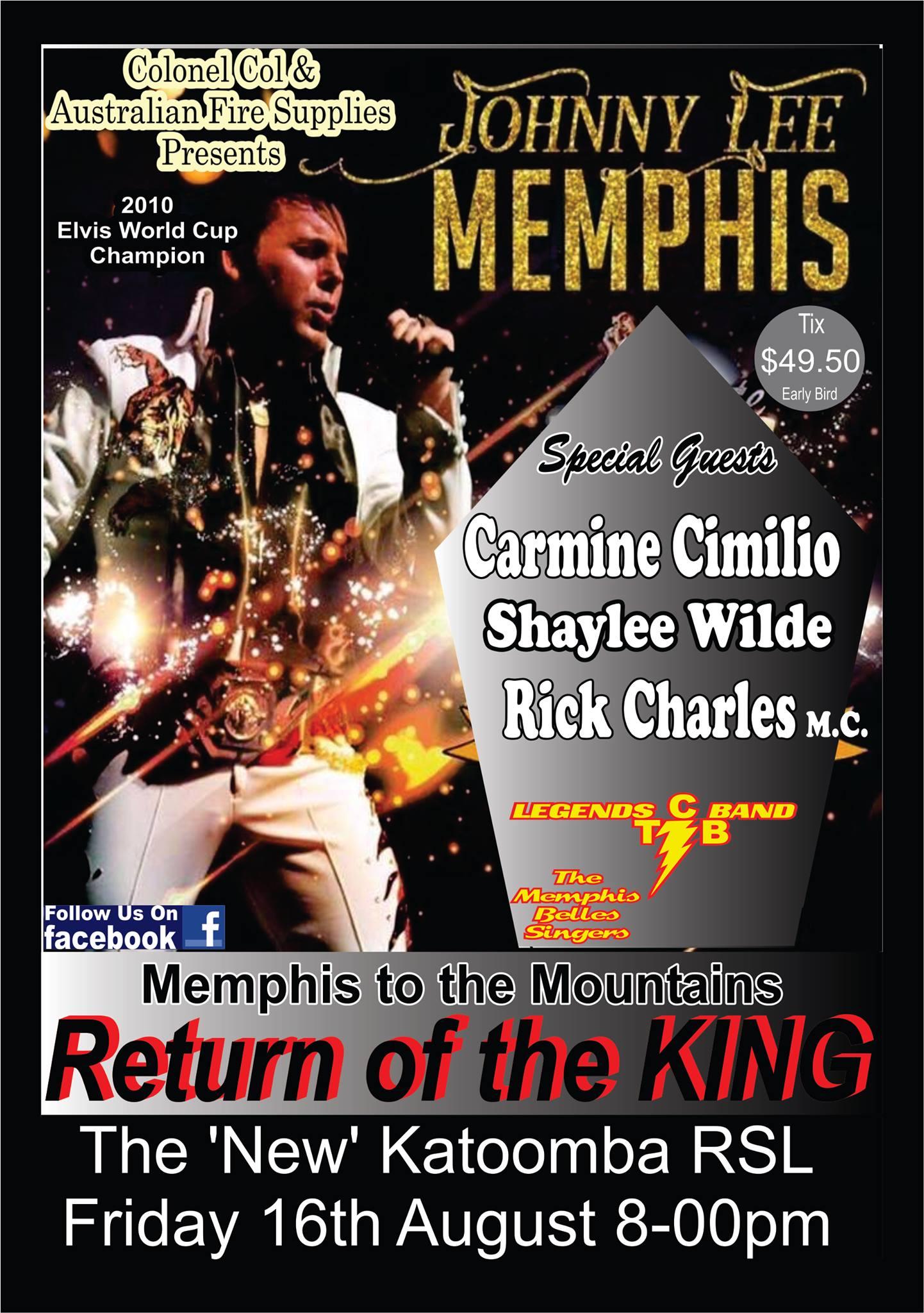 Program Johnny Lee Memphis